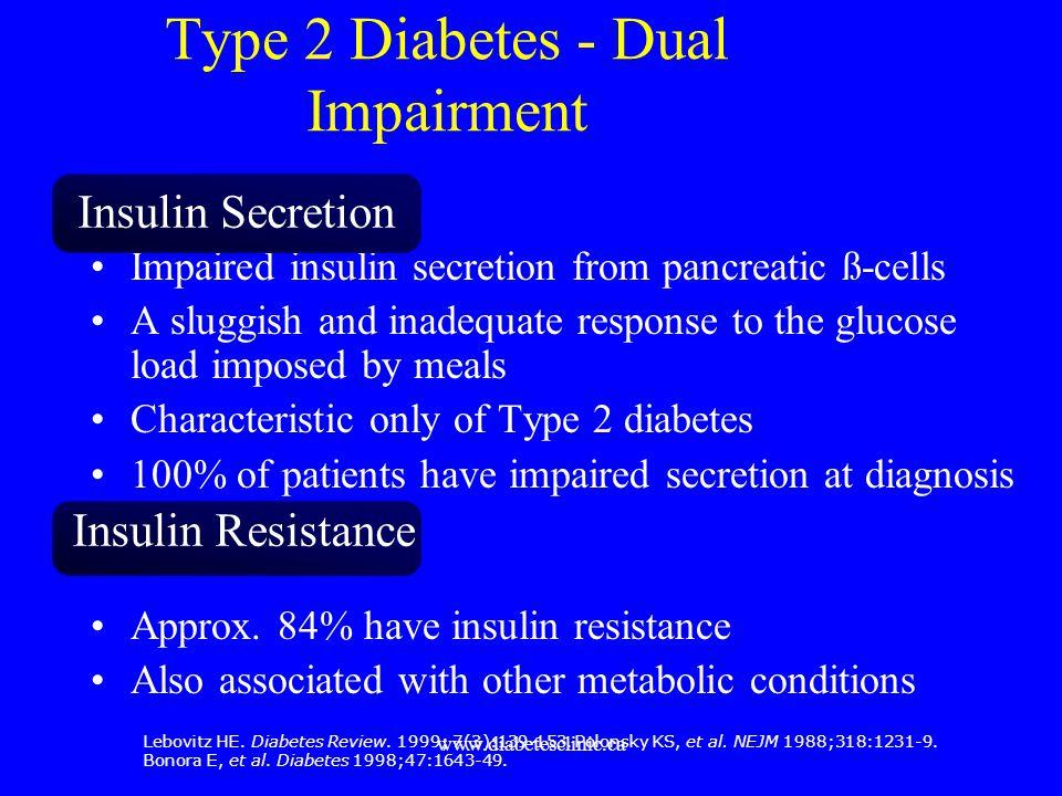 Type 2 Diabetes - Dual Impairment