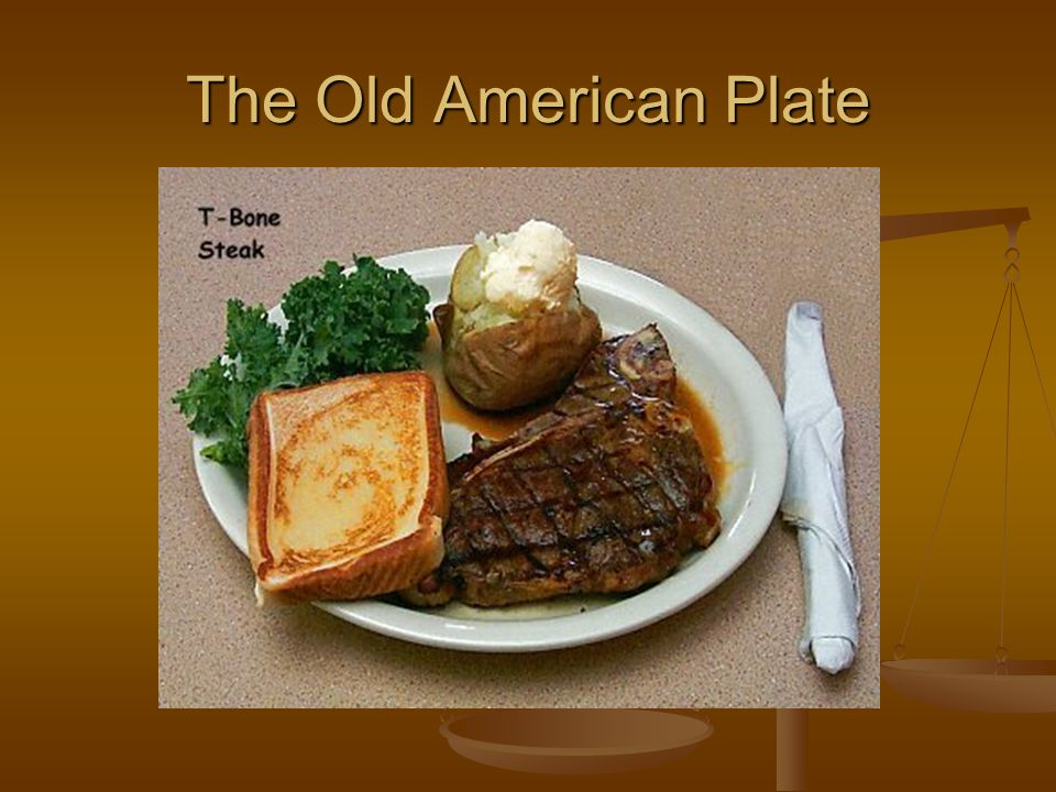 The Old American Plate