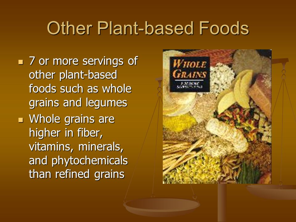 Other Plant-based Foods