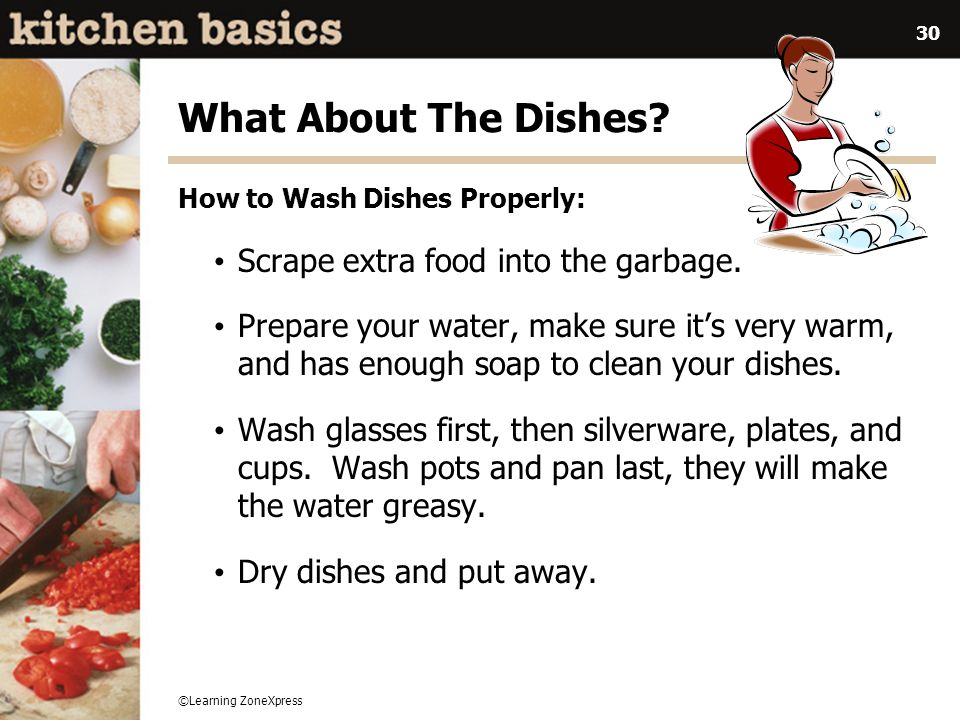 how to wash dishes fast and clean