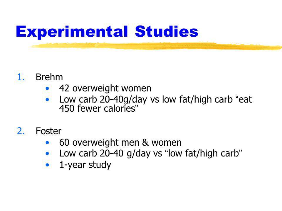Experimental Studies Brehm 42 overweight women