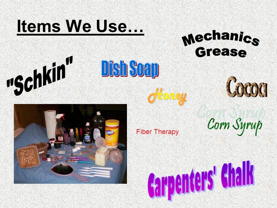 Items We Use… Mechanics Schkin Dish Soap Grease Cocoa Honey