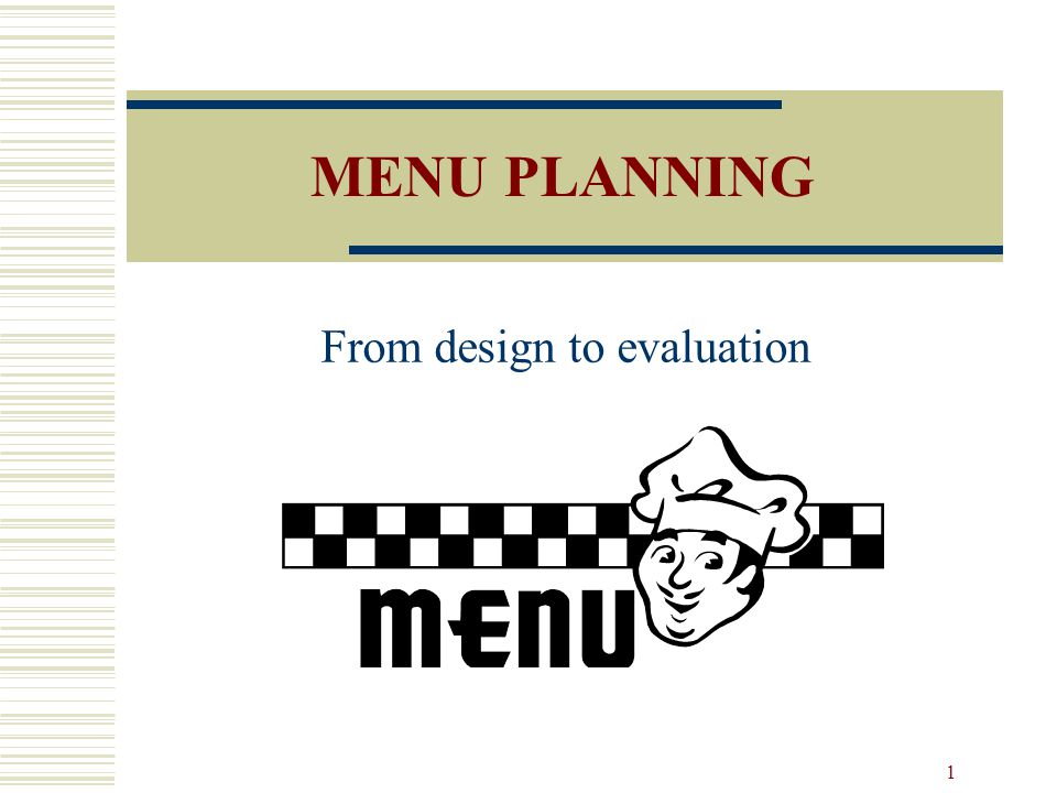 From design to evaluation