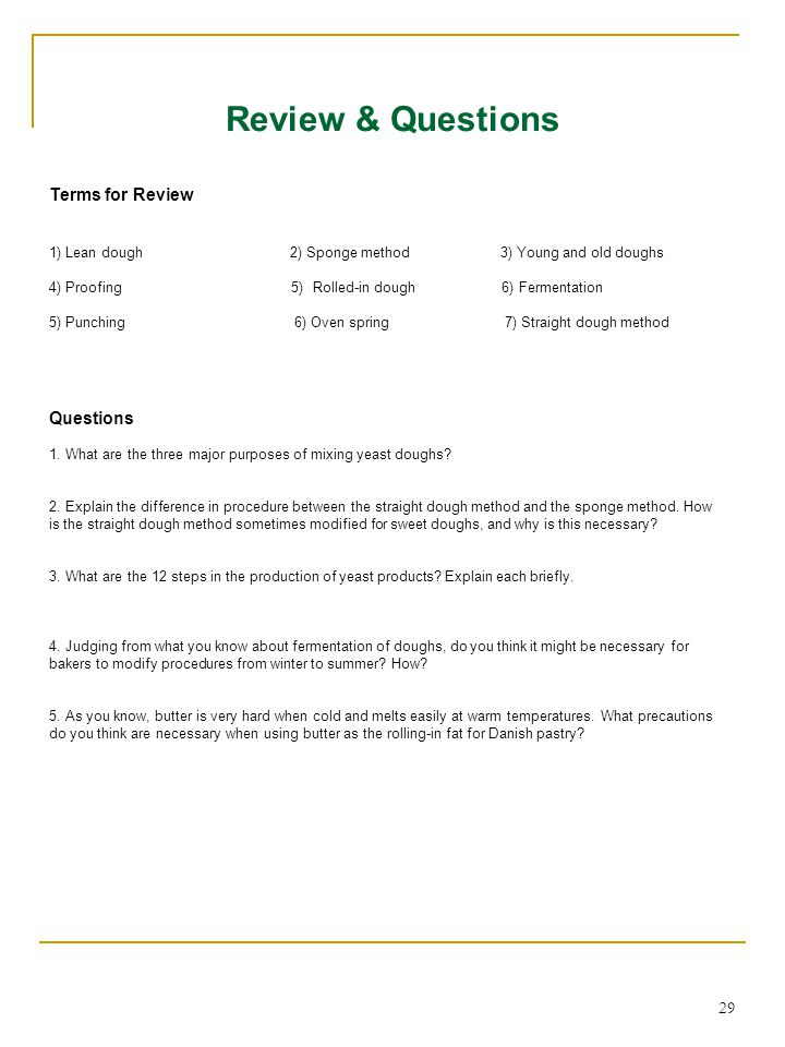 Review & Questions Terms for Review Questions