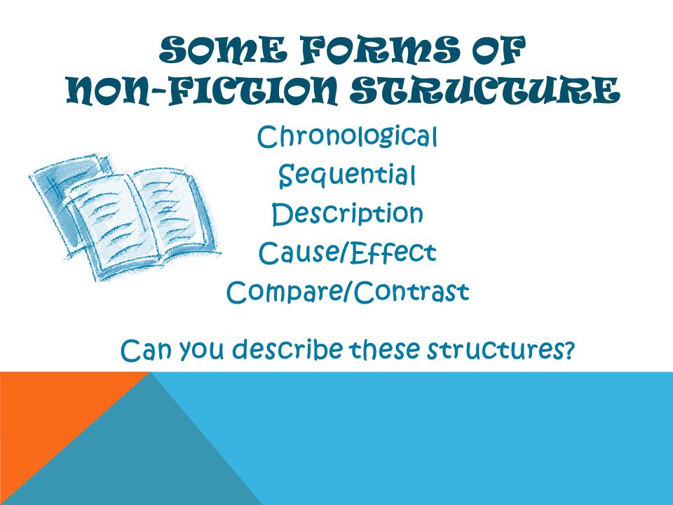 Some Forms of Non-Fiction Structure