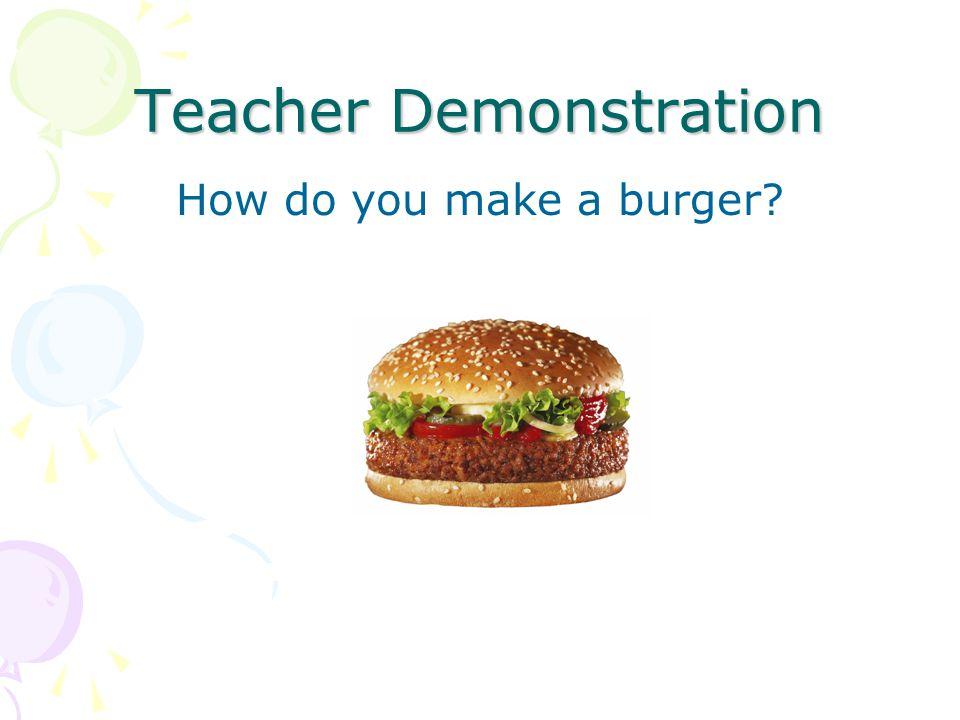 Teacher Demonstration