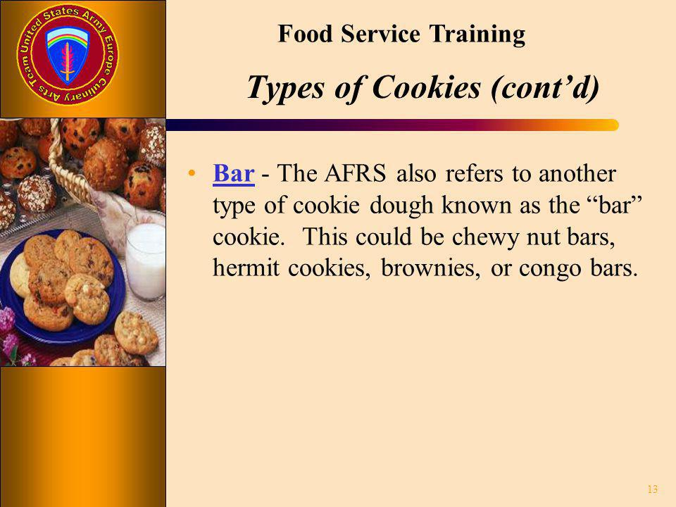 Types of Cookies (cont'd)