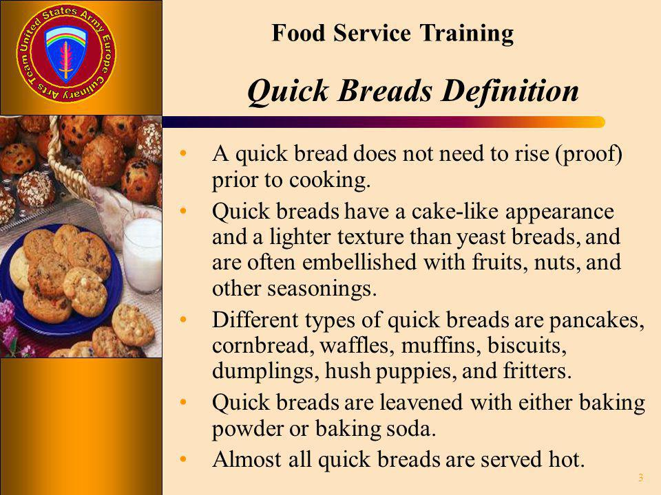 Quick Breads Definition