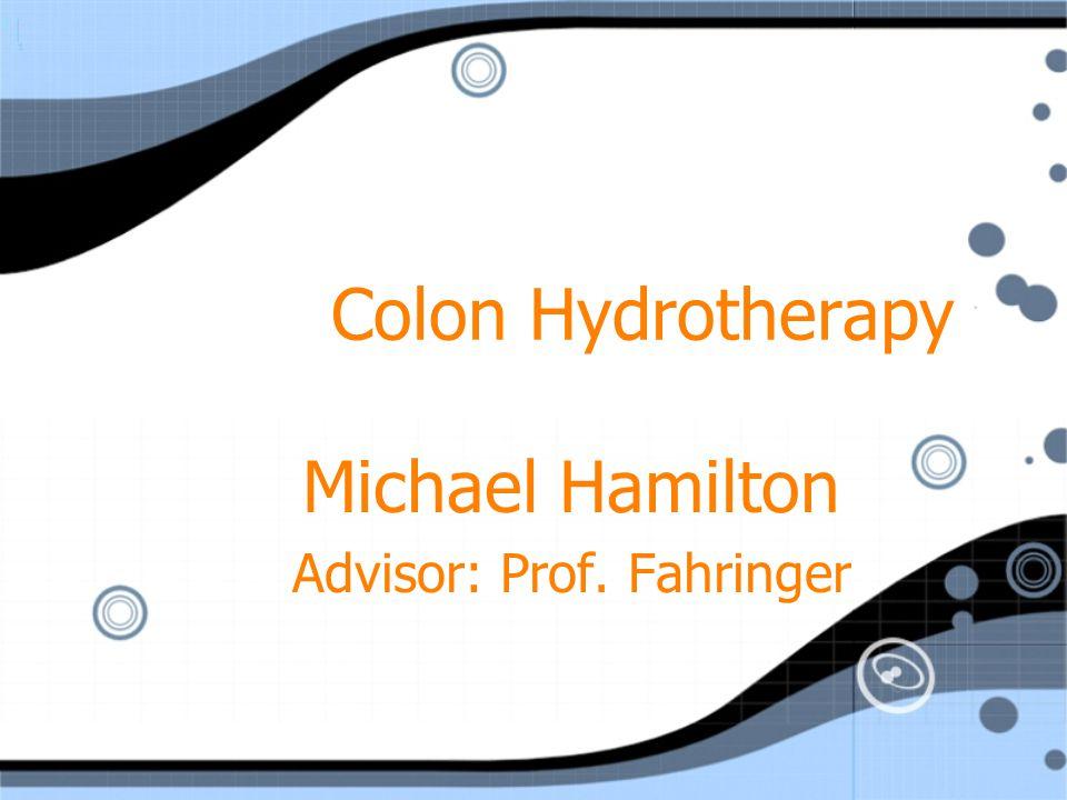 Michael Hamilton Advisor: Prof. Fahringer
