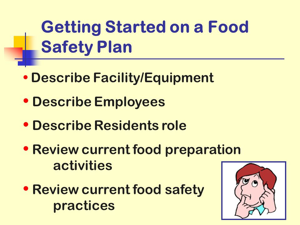 Getting Started on a Food Safety Plan