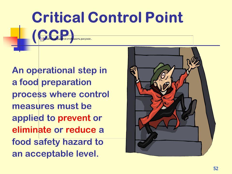 Critical Control Point (CCP)