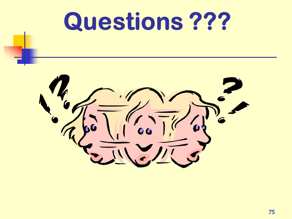 Questions 75