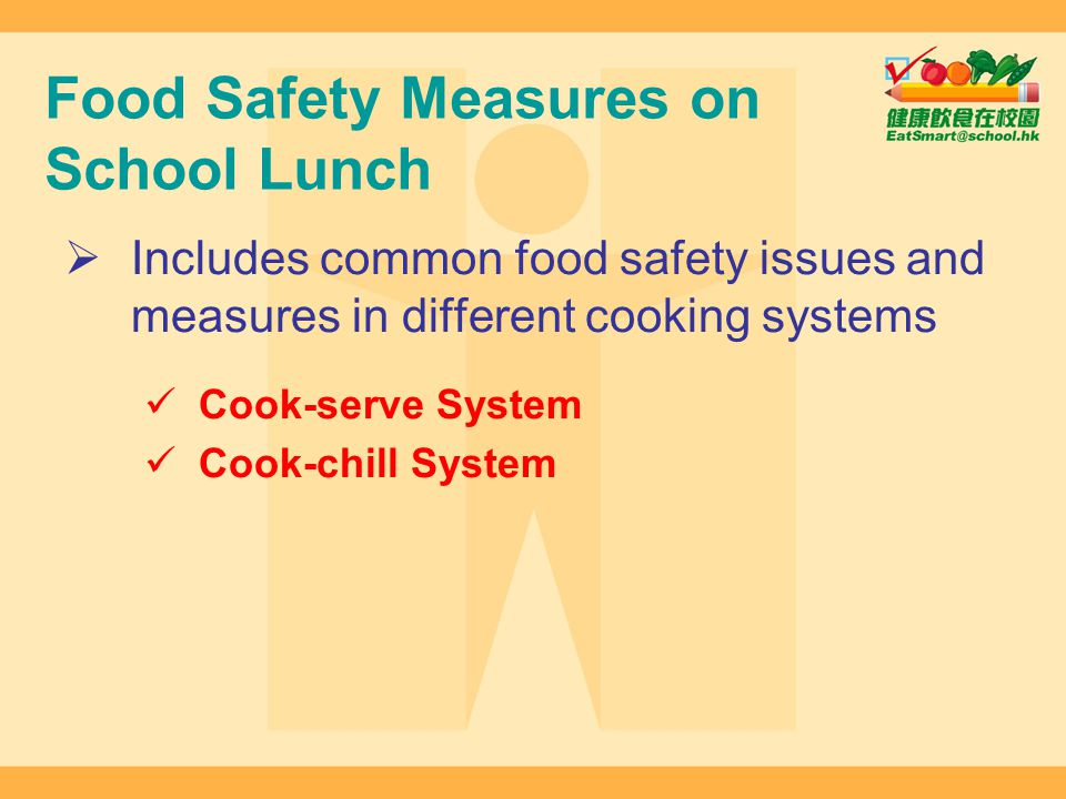 Food Safety Measures on School Lunch