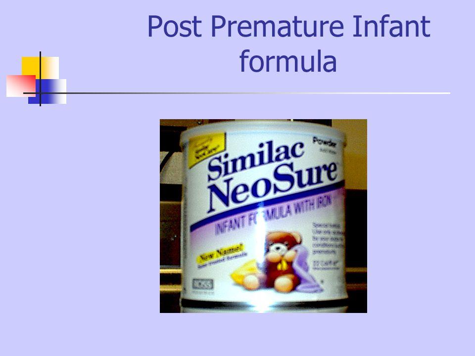 Post Premature Infant formula
