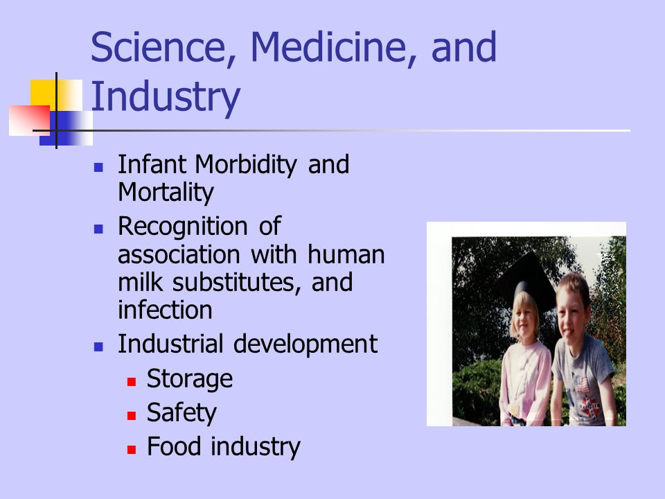 Science, Medicine, and Industry