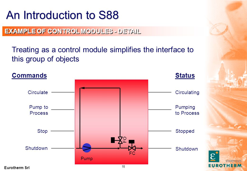 An Introduction to S88 RECIPE DEFINITION.