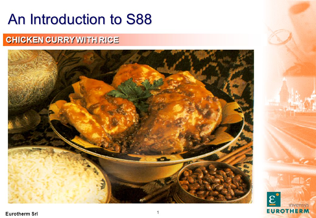 An Introduction to S88 Rice Chicken Curry INGREDIENTS