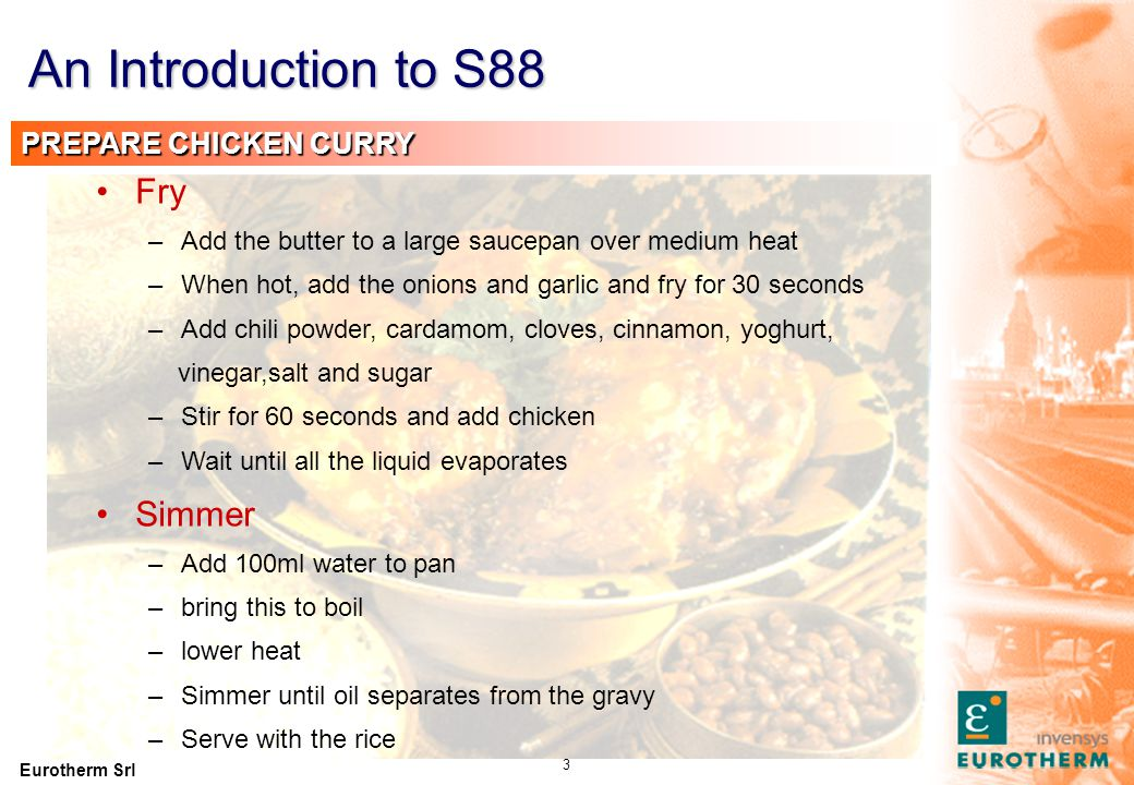An Introduction to S88 PREPARE RICE Soak Boil Simmer