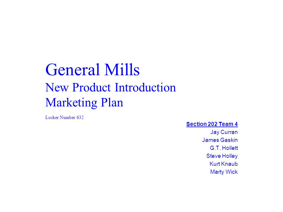 marketing plan for a new product Essay on marketing plan  a brief discussion is made concerning an existing or new product of a business in the marketing plan product  all countries welcome.