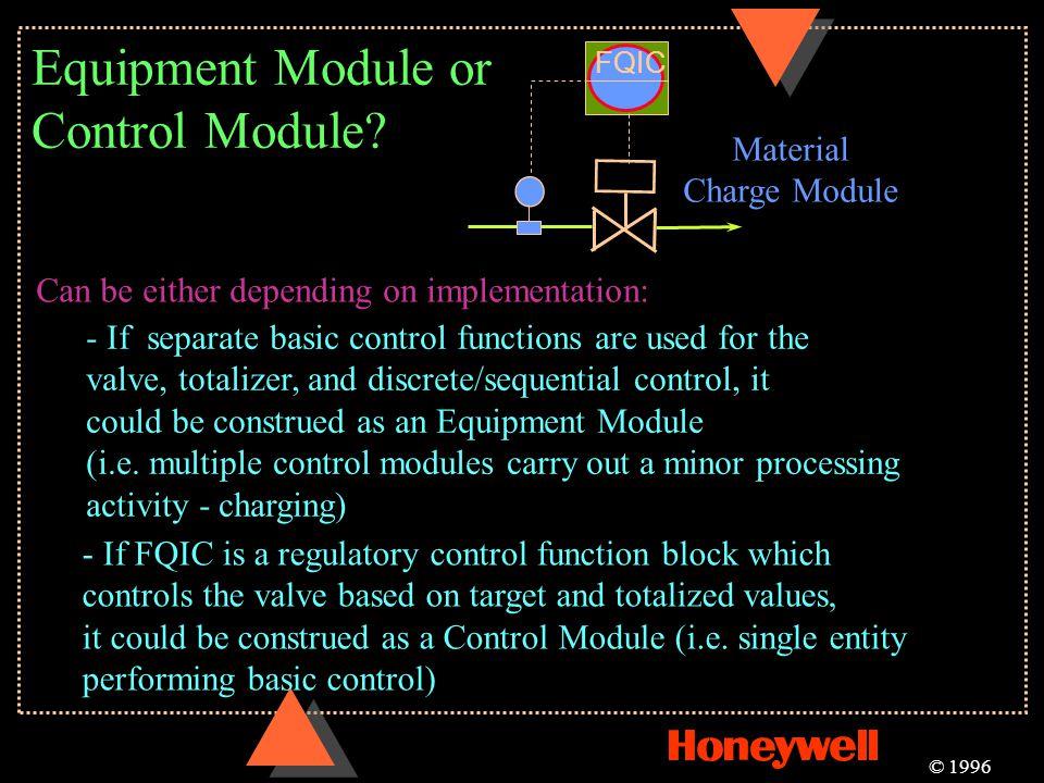 Equipment Module or Control Module