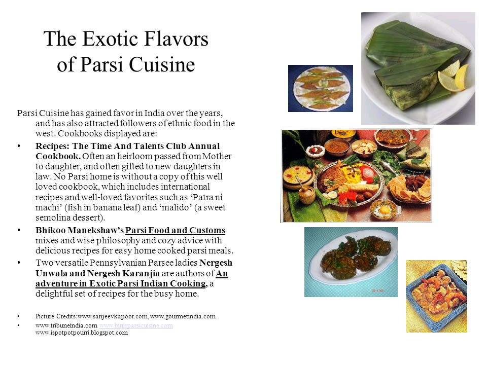 The Exotic Flavors of Parsi Cuisine