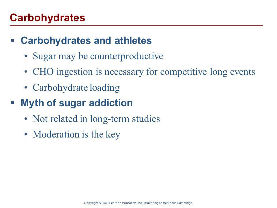 Carbohydrates Carbohydrates and athletes