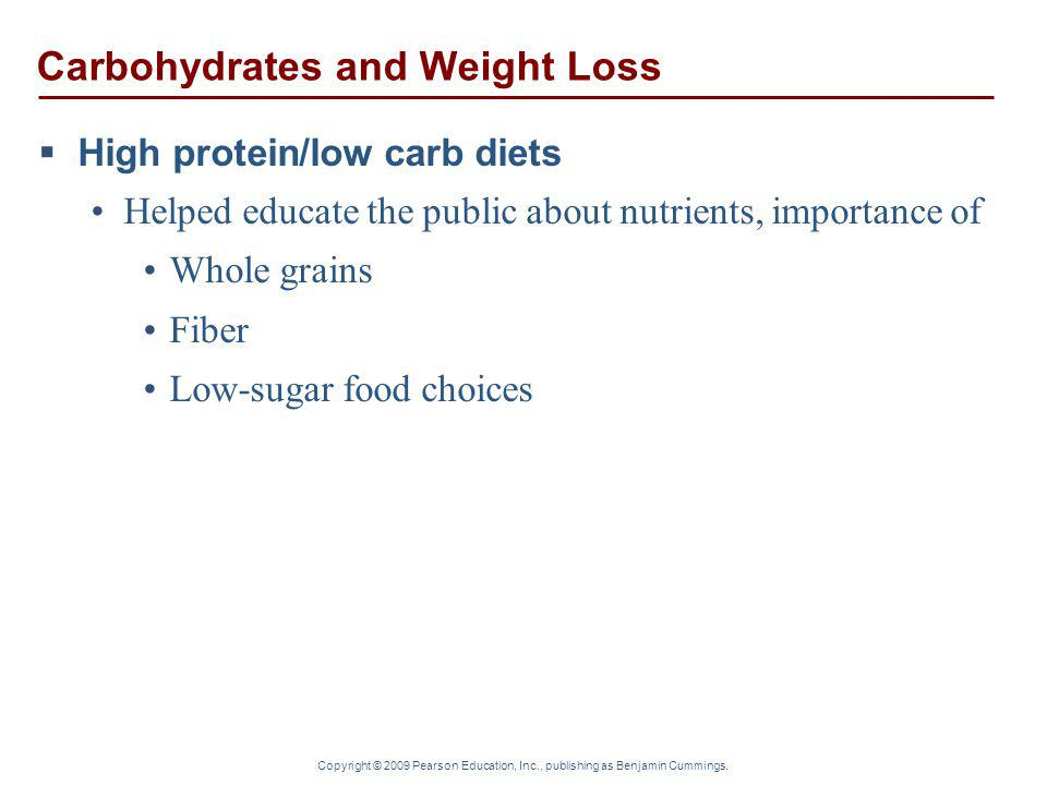 Carbohydrates and Weight Loss