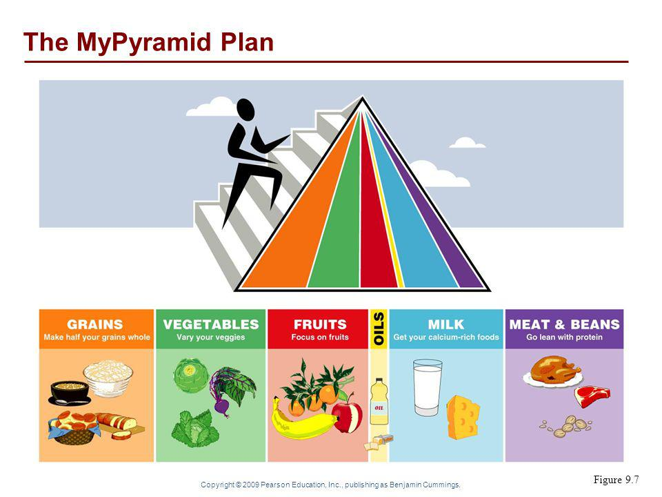 The MyPyramid Plan Figure 9.7