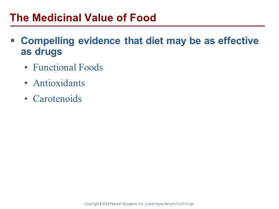 The Medicinal Value of Food