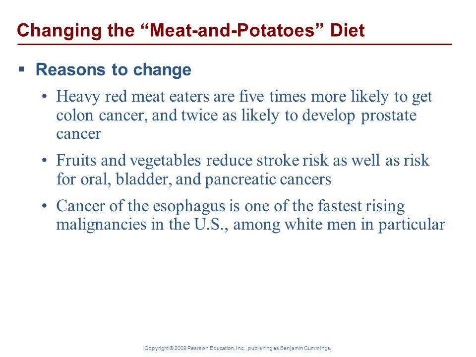 Changing the Meat-and-Potatoes Diet