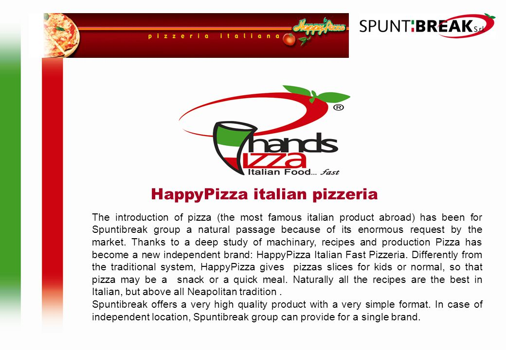 HappyPizza italian pizzeria