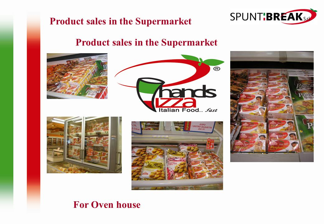 Product sales in the Supermarket