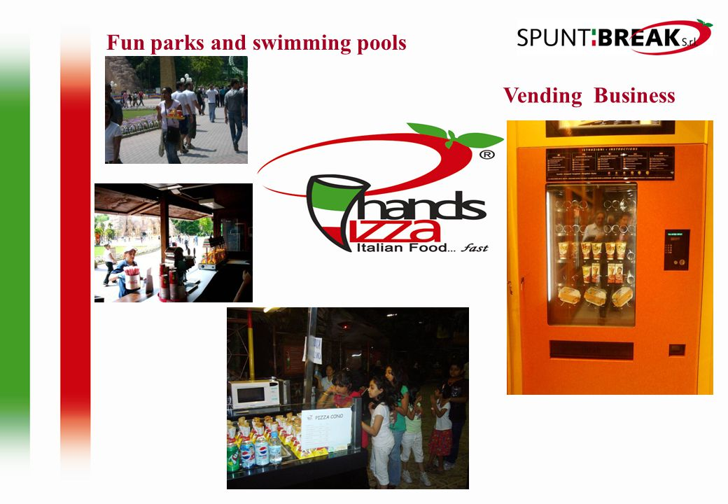 Fun parks and swimming pools