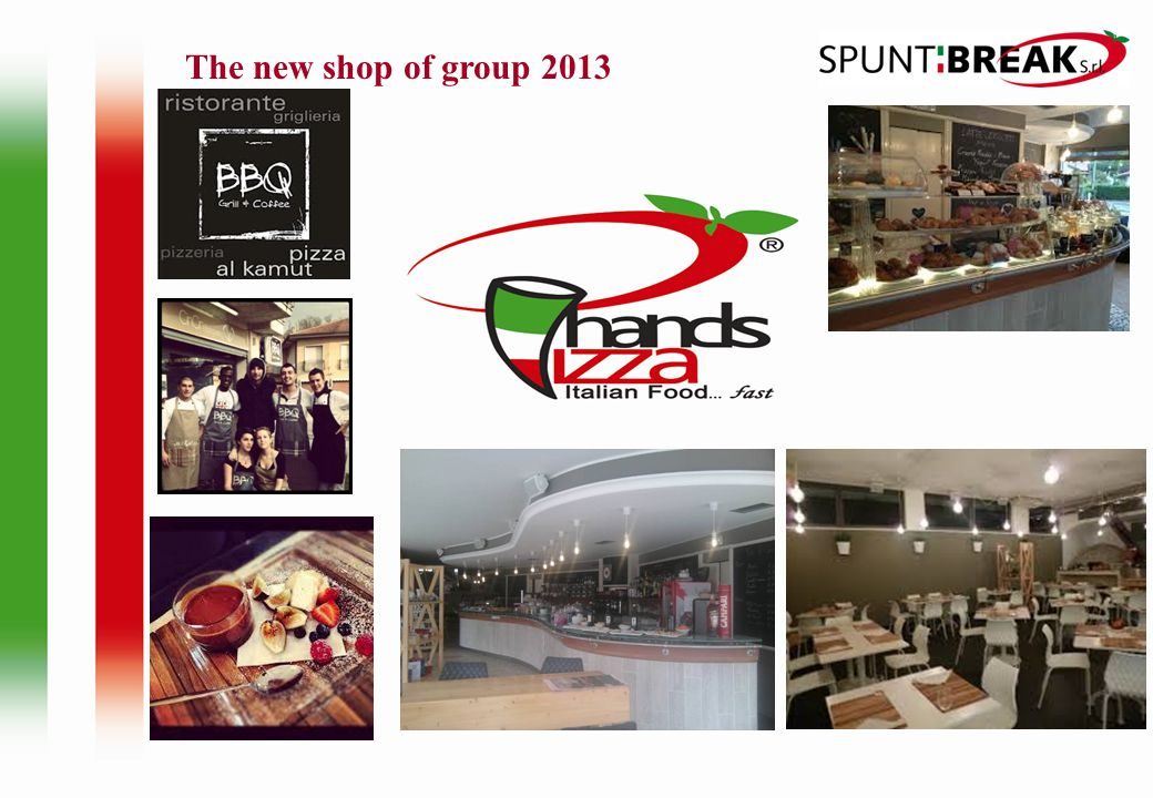 The new shop of group 2013