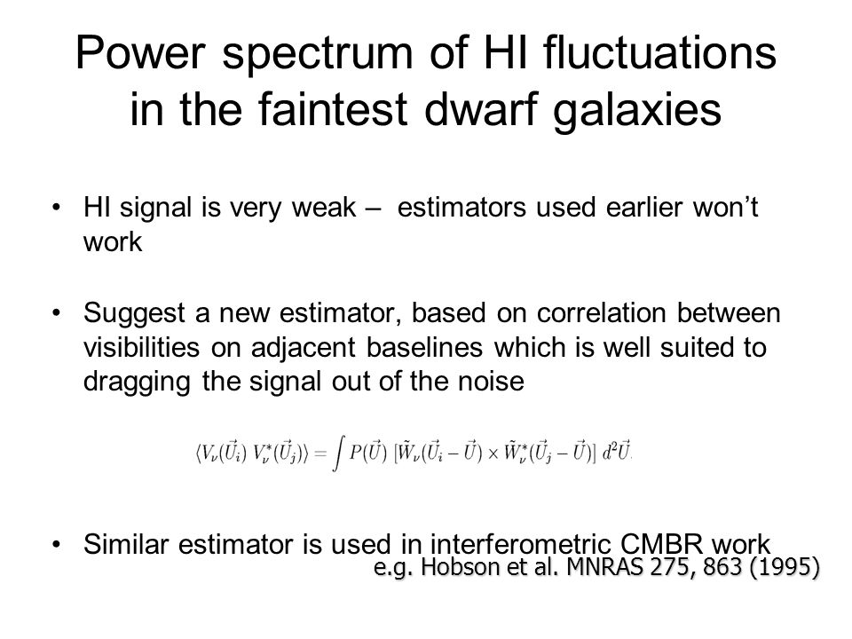 Power spectrum of HI fluctuations in the faintest dwarf galaxies