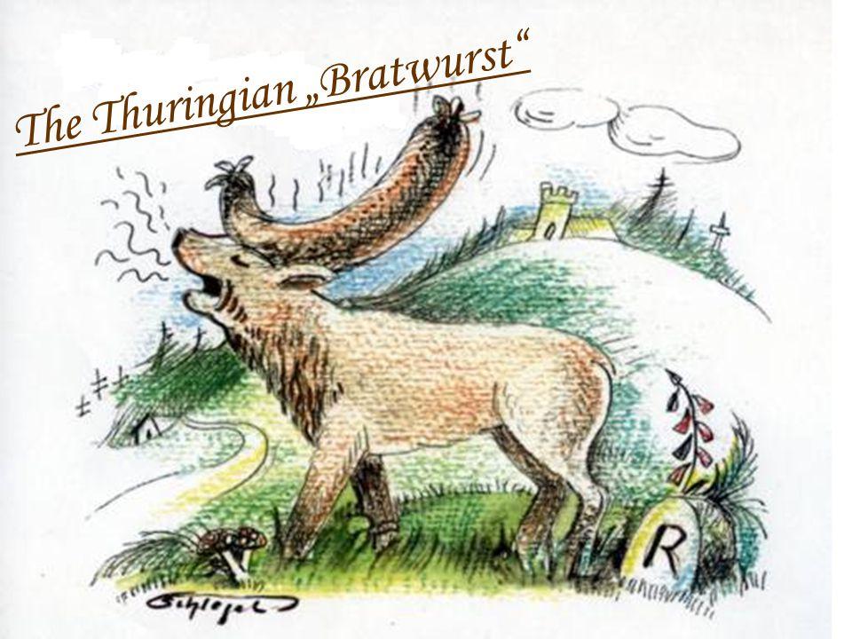 "The Thuringian ""Bratwurst"