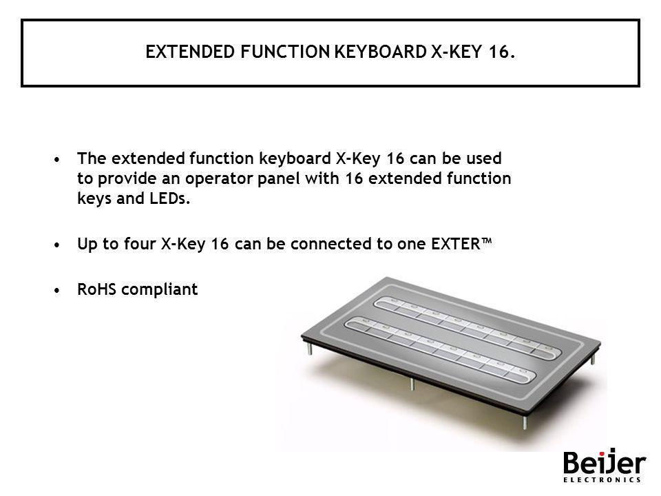 EXTENDED FUNCTION KEYBOARD X-KEY 16.