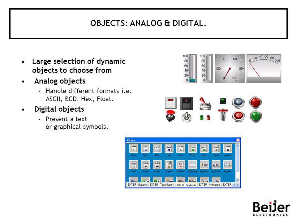 OBJECTS: ANALOG & DIGITAL.