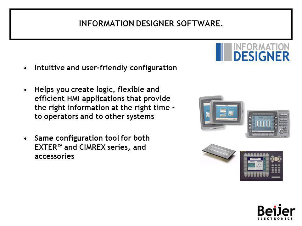 INFORMATION DESIGNER SOFTWARE.