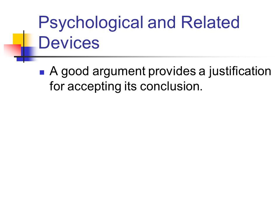 Psychological and Related Devices