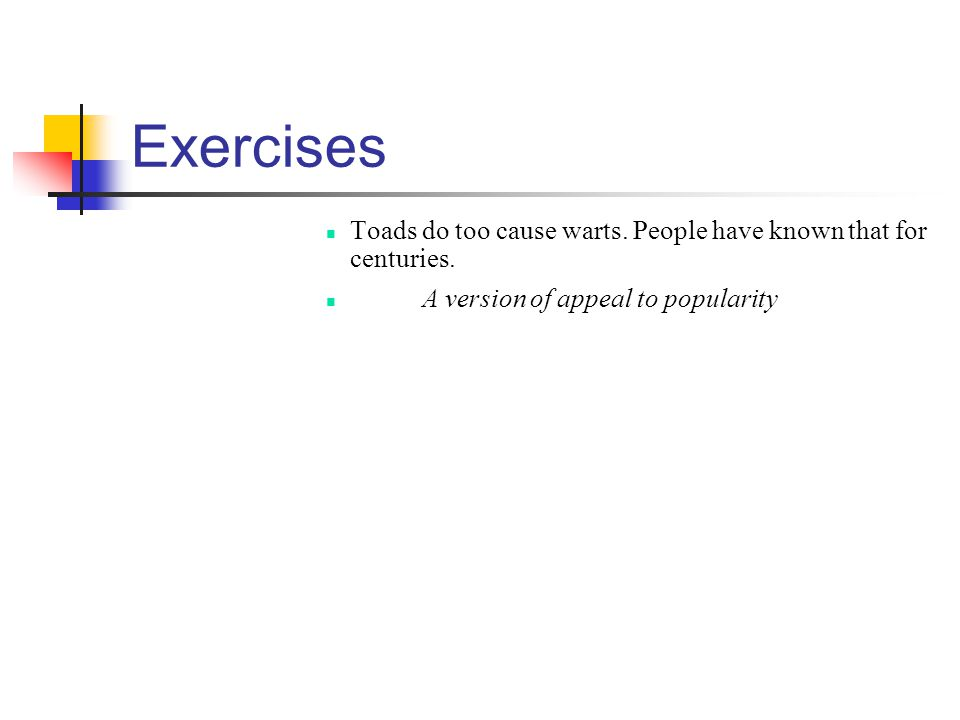 Exercises Toads do too cause warts. People have known that for centuries.