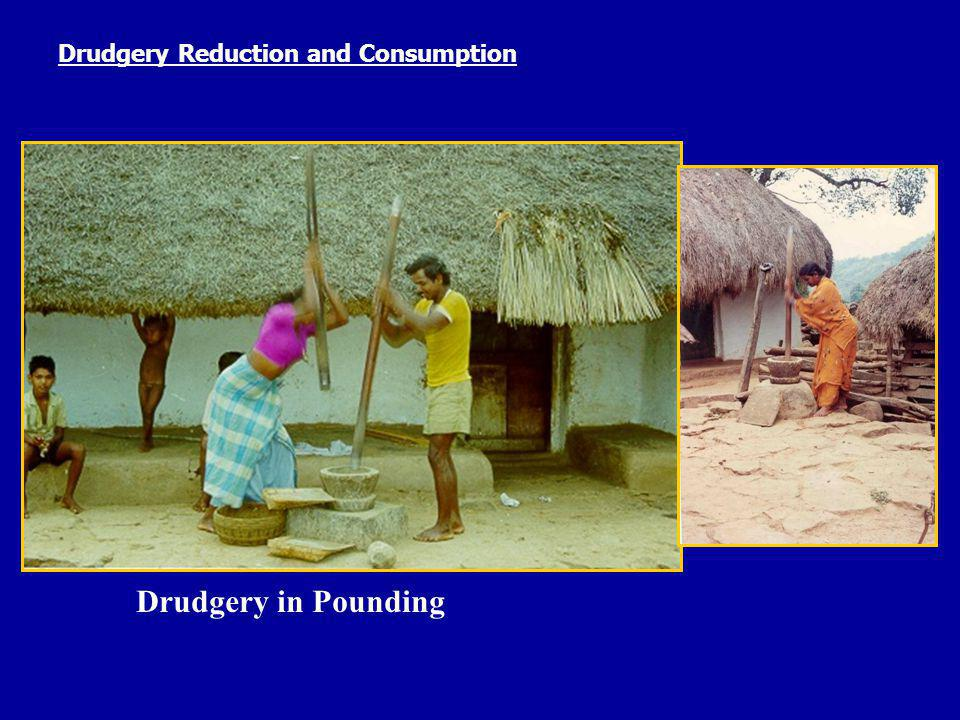 Drudgery Reduction and Consumption