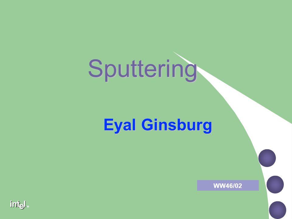Sputtering Eyal Ginsburg WW46/02