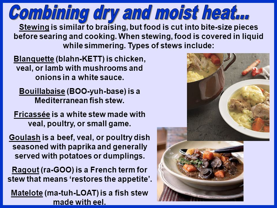 Combining dry and moist heat...
