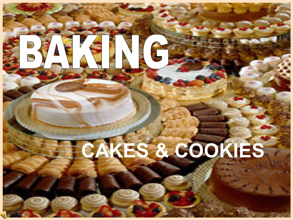 BAKING CAKES & COOKIES