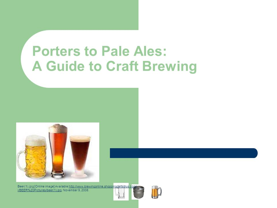Porters to Pale Ales: A Guide to Craft Brewing