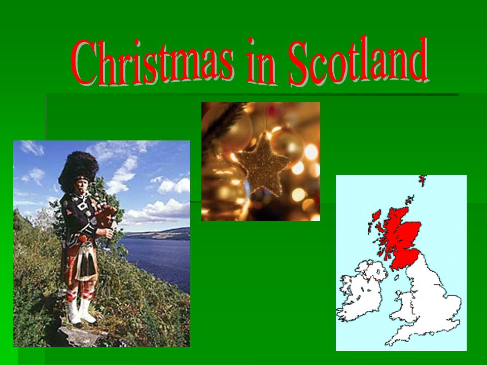Christmas in Scotland