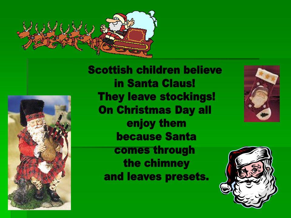 Scottish children believe