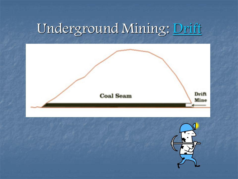 Underground Mining: Drift