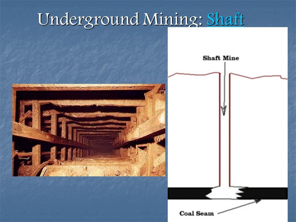Underground Mining: Shaft